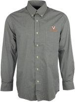 Antigua Men's Long-Sleeve Virginia Cavaliers Button-Down Shirt
