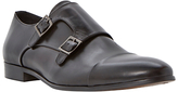Dune Reynold Toecap Monk Hi-shine Leather Shoes