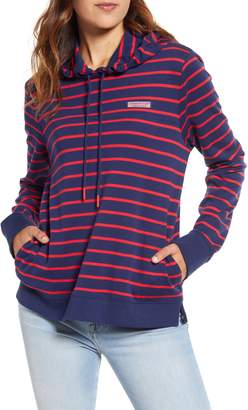 Vineyard Vines Break Stripe Cotton Shep Hoodie