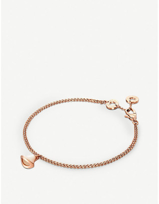 Bvlgari Women's Pearl Divas' Dream 18Kt Pink-Gold And Mother-Of-Pearl Bracelet, Size: S/M