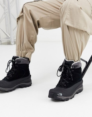 The North Face Chilkat walking boot in black