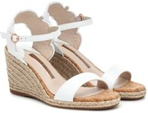 Sophia Webster Cassia leather espadrille wedges