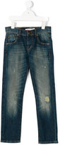 Levi's Kids - distressed slim fit jeans - kids - Cotton/Spandex/Elastane - 4 yrs