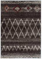 Ecarpetgallery La Morocco Dark Brown, Dark Grey Shag
