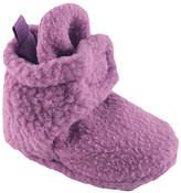 Luvable Friends Lilac Fleece Booties - Infant