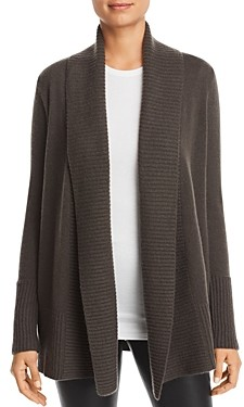 C by Bloomingdale's Shawl-Collar Cashmere Cardigan - 100% Exclusive