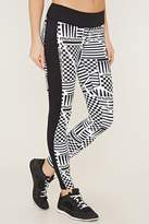 Forever 21 Active Checker Print Leggings