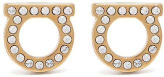 Salvatore Ferragamo Gancini stud earrings