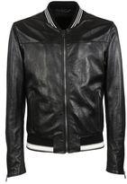 Dolce & Gabbana Leather Bomber