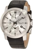 Kenneth Cole New York Kenneth Cole Men's Dress Sport KC1845 Black Leather Quartz Watch with Dial