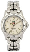 Tag Heuer S/el S89.706 Stainless Steel with White Dial 37.5mm Mens Watch