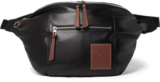 Loewe Logo-Appliqued Leather Belt Bag