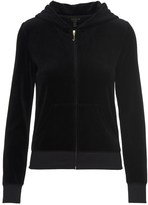 Juicy Couture Outlet - LOGO VELOUR VIVA CROWN ROBERTSON JACKET