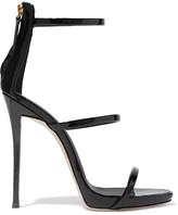 Giuseppe Zanotti Patent-leather Sandals - Black