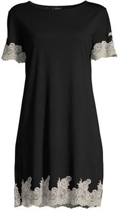 Natori Lace Trimmed Sleepshirt