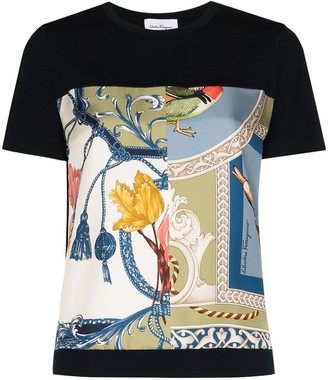 Salvatore Ferragamo graphic-print T-shirt