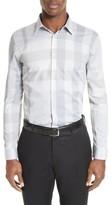 Burberry Men's 'Southbrook' Trim Fit Plaid Sport Shirt