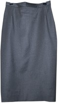 Vivienne Westwood Grey Wool Skirts