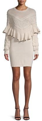 Avantlook Ruffled Mini Dress