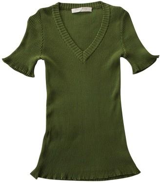Miu Miu Green Cotton Knitwear for Women