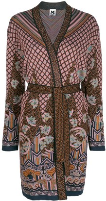 M Missoni belted cardigan