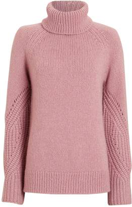 Intermix Demi Wool & Alpaca-Blend Turtleneck