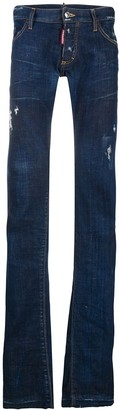 DSQUARED2 Bootcut Distressed Jeans