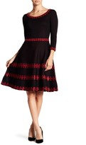 Taylor Fit & Flare Sweater Dress