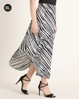 Black Label Black and White Skirt