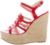 Saint Laurent Espadrille Wedge Sadnals
