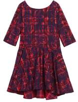 Tea Collection Toddler Girl's Culzean Plaid Dress