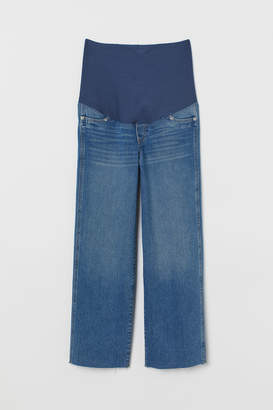 H&M MAMA Culotte Ankle Jeans