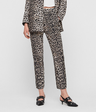 AllSaints Neve Leppo Tapered Mid-Rise Pants