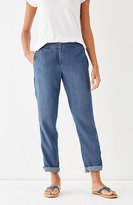 J. Jill Tencel®-Soft Indigo Forward-Seam Pants