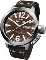 TW Steel Men's CE1009 CEO Canteen Leather Dial Watch