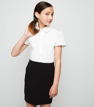 New Look Girls Zip Back Skirt