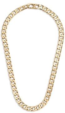 BaubleBar Curb Chain Short Collar Necklace, 16