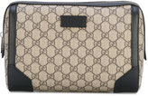 Gucci GG Supreme print wash bag - women - Canvas/Suede/Leather - One Size