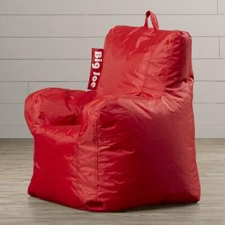 Big Joe Small Outdoor Friendly Bean Bag Chair Big Joe Fabric: Flaming Red