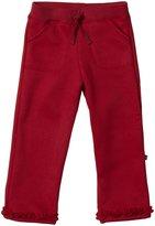Kickee Pants Ruffle Sweatpants (Toddler/Kid) - Brick-6