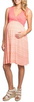 Everly Grey Women's Cleo Maternity/nursing Dress