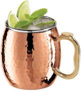 Oggi NEW Moscow Mule Mug Hammered Copper Plate