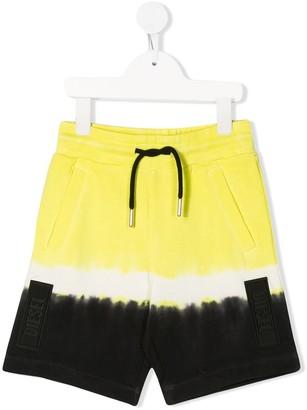 Diesel tie-dye shorts