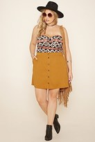 Forever 21 FOREVER 21+ Plus Size Tribal Print Top