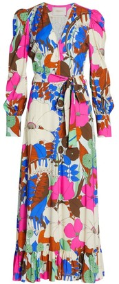 La DoubleJ Super Smokin' Hot Long Floral Dress