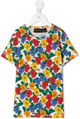 Mini Rodini Violas printed T-shirt
