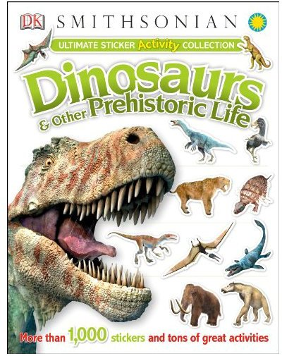 DK Publishing Ultimate Sticker Activity Collection: Dinosaurs