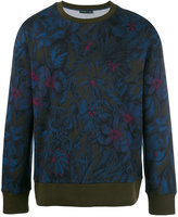 Etro floral print sweatshirt - men - Cotton/Polyamide - L