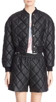 Stella McCartney Women's Crop Quilted Puffer Jacket