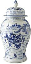 Horchow Vintage B/W Porcelain Jar